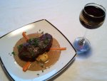 Jaison's Steak with Blue Cheese Sauce