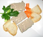 Jaison's Chicken liver, red wine and walnut pate`